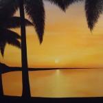 Acrylic painting 48 x 60