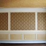 Antique glazed moldings & panels