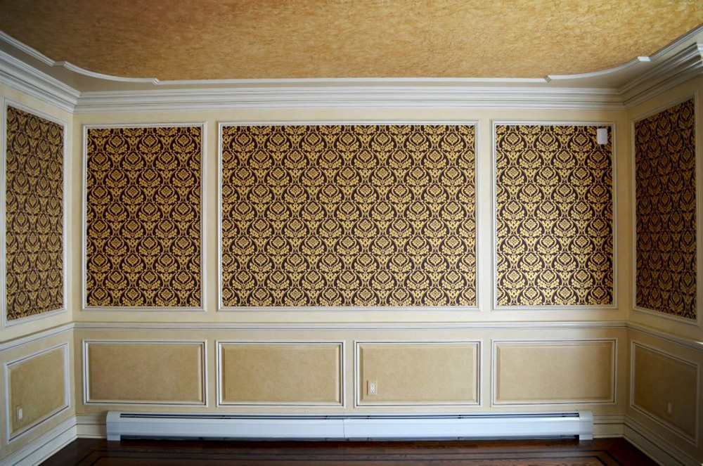 Glazed Crown Molding : Antique glazed moldings panels jelber s decorative arts