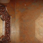 Close up of advance veneciano finish