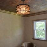 Foil texture ceiling