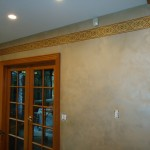 Lusterstone walls finish