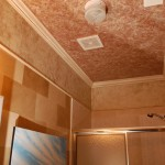 Soft finishes in ceiling & walls