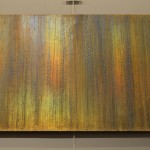 Textured foils on canvas 36 x 60
