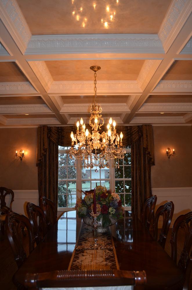Venetian Plaster Coffered Ceiling Jelber S Decorative Arts