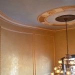 Venetian plaster in ceiling & walls