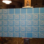 Venetian plaster stencil 36 x 60